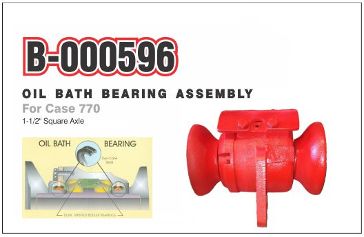 B-000596 Oil Bath Bearing Assembly for Case 770
