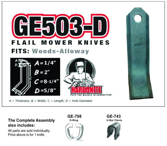 GE503-D Fits Alloway