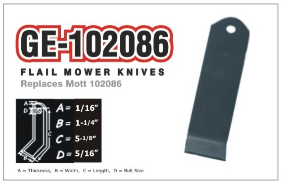 GE102086 - $2 88 : Hard Hitter, Wear Parts With Muscle