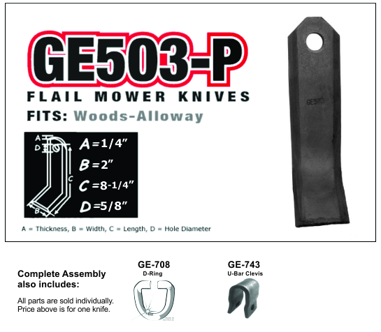 GE503-P Fits Alloway
